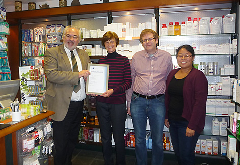 Celebrating 25 years of service in Philipps Pharmacy Marburg
