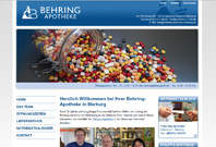 Website der Philipps-Behring Marburg